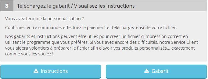 où télécharger le modèle pour créer un dépliant en ligne sur Pixartprinting