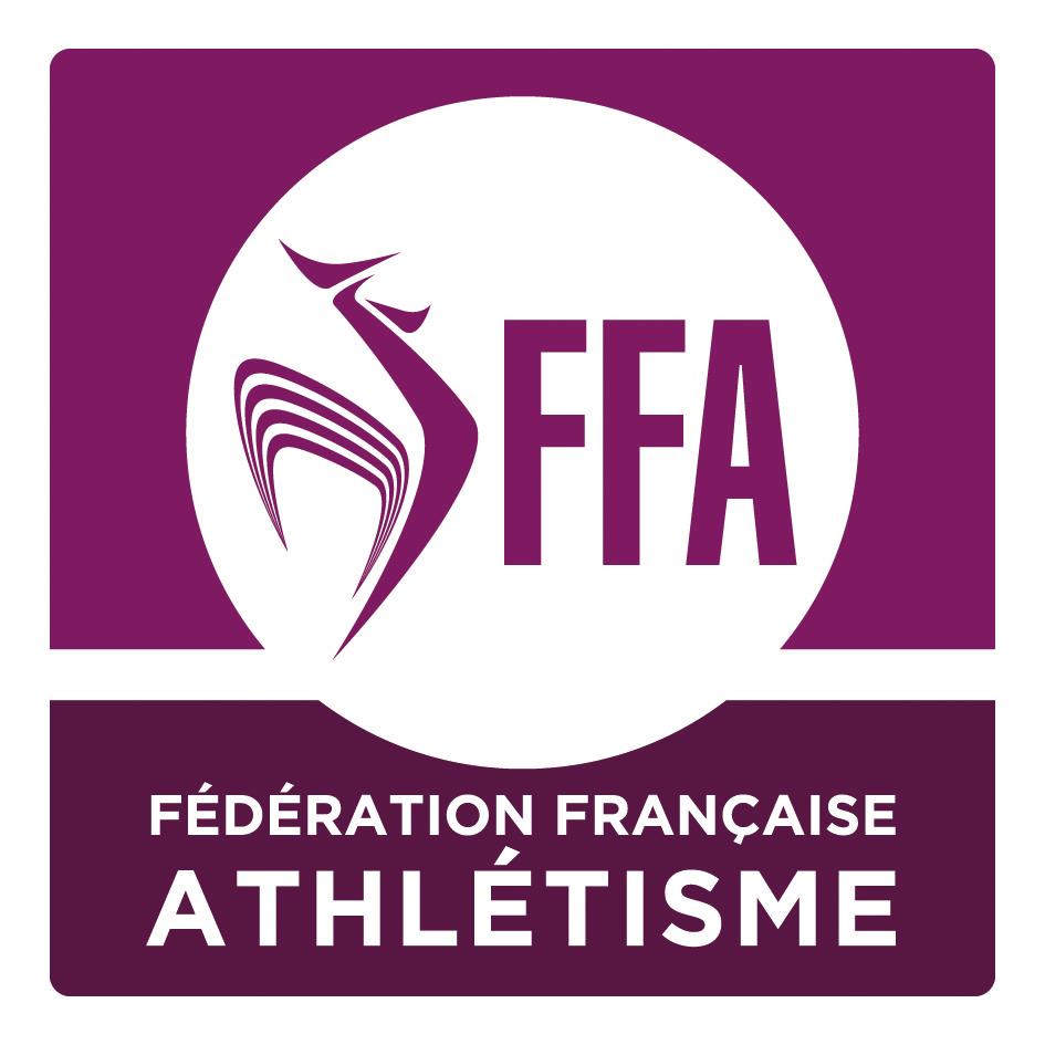 Logo de 1998 à 2018, crédit: Fédération Française d'Athlétisme (FFA)