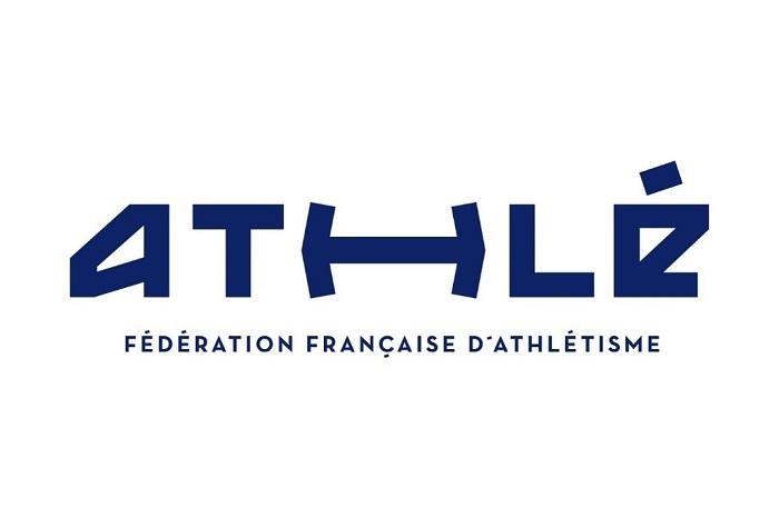 Logo depuis 2018, crédit: Fédération Française d'Athlétisme (FFA)